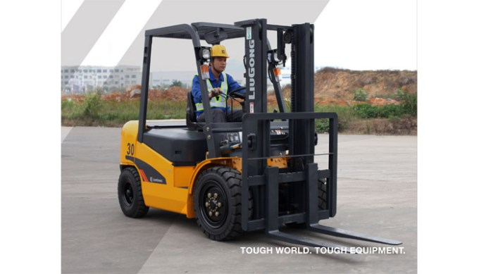 3.0 TON DIESEL FORKLIFT – CPCD30A*