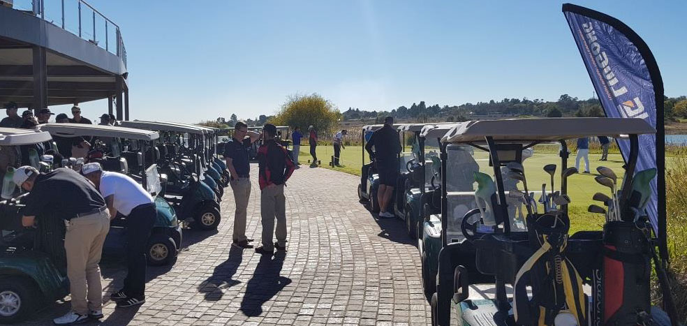 Burgers & Liugong Golf Day 2018