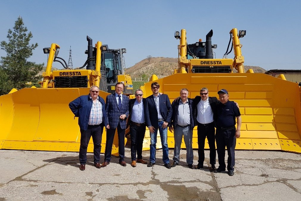 LiuGong Dressta Machinery Takes Customers' Needs as Top Priority in Uzbekistan