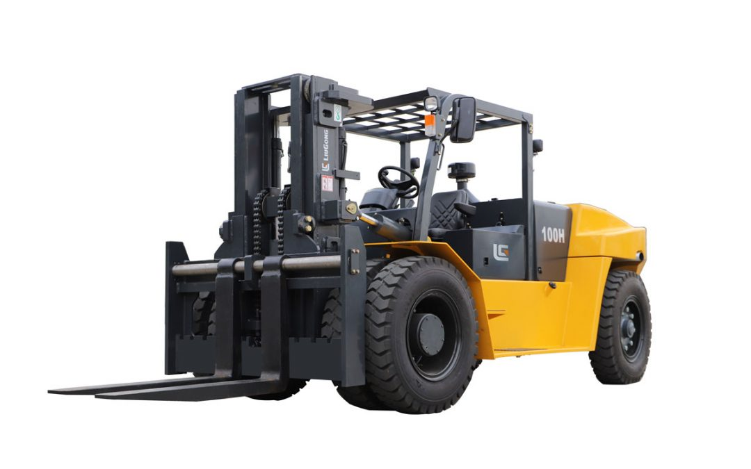 Liugong CLG2100H 10.0t~12.0t Forklift – work for inside the container